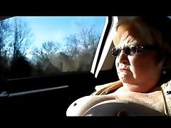 car masturbating