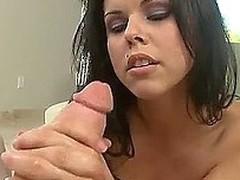 brunette cock