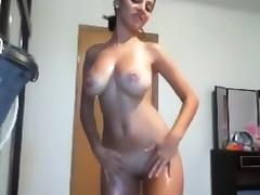 big tits home