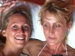 lesbian masturbating